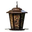 Audubon/Woodlink Mixed Seed Carriage Lantern Style Bird Feeder - Copper - 1.5 Pound Cap