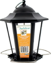 Audubon/Woodlink Mixed Seed Carriage Lantern Style Bird Feeder - Black - 1.5 Pound Cap