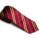 TOPTIE Men & Boy Skinny Striped Tie, Wholesale 5 Pcs Woven Microfiber Necktie