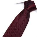 TOPTIE Men's Dots Check Woven Tie 3.2