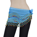 BellyLady Belly Dance Hip scarf, Gold Bells Skirt, Halloween Costume