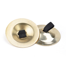 BellyLady Belly Dance Gold Plain Brass Zill Finger Cymbals