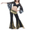 BellyLady Tribal Belly Dance Lace Butterfly Sleeve Wrap Top, Halloween Costume