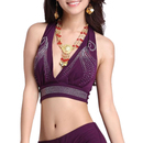 BellyLady Belly Dance Faux Diamond Halter Bra Top Christmas Gift Idea