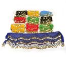 BellyLady 158 Gold Coins Belly Dance Hip Scarf, Wholesale Lots 10 Pcs Dnce Belt