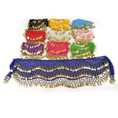 BellyLady Wholesale Lots 10 Belly Dance Hip Scarves, Zumba Hip Scarf