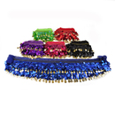 BellyLady Wholesale Lots 6 Coins Belly Dance Hip Scarves, Christmas Gift Idea