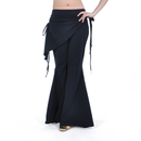 BellyLady Belly Dance Tribal Costume Pants, Yoga Salsa Ballroom Dance Pants