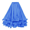 BellyLady Belly Dance Three-layer Chiffon Hemming Skirt, Tiered Maxi Skirt (Lots of Colors)
