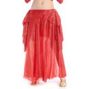 BellyLady Belly Dance Gold Stamping Skirt