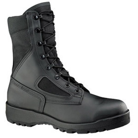 Belleville Hot Weather Black Safety Toe Boot