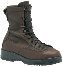 Belleville 330ST Wet Weather Safety Toe Flight Boot, Chocolate Brown