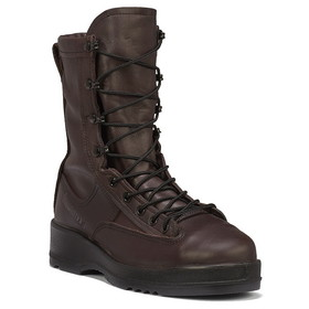 Belleville Wet Weather Safety Toe Flight Boot, Chocolate Brown