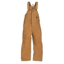 Berne Apparel BB20 Youth Insulated Bib Overall - Quilt Lined