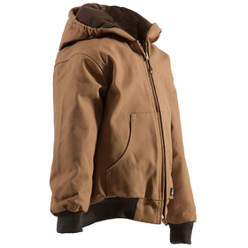 Berne Apparel BHJ51 Youth Hooded Jacket - Quilt Lined