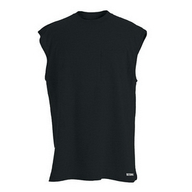 Berne Apparel BSM19 Heavyweight Pocket Shirt - Sleeveless