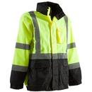 Berne Apparel HVJ203 Hi-Visibility Waterproof Jacket