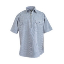 Berne Apparel SH93 Zip Front Short-Sleeve Logger Shirt