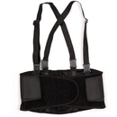 GOGO Unisex Elastic Back Support / Lumbar Support Belt With Attached Suspenders
