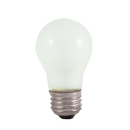 Bulbrite 25A15F 25-Watt Incandescent Standard A15, Medium Base, Frost