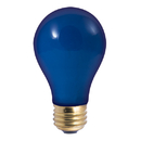 Bulbrite 25A/CB 25-Watt Incandescent Standard A19, Medium Base, Ceramic Blue