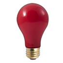 Bulbrite 40A/CR 40-Watt Incandescent Standard A19, Medium Base, Ceramic Red