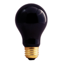 Bulbrite 75A/BL 75-Watt Incandescent Standard A19, Medium Base, Black Light