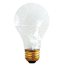 Bulbrite 100A/RS/TF 100-Watt Incandescent Standard A19 Rough Service and Shatter Resistant, Medium Base, Frost
