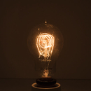 Bulbrite NOS25A15/LP/E12 25-Watt Nostalgic Incandescent Edison A15, Vintage Loop Filament, Candelabra Base, Antique