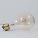 Bulbrite NOS25-VICTOR/A21 25-Watt Nostalgic Incandescent Edison A21, Victorian Loop Filament, Medium Base, Antique