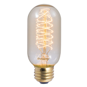 Bulbrite NOS40T14 40-Watt Nostalgic Incandescent Edison Torch Spiral T14, Medium Base, Antique