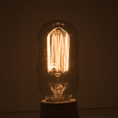 Bulbrite NOS40T14/SQ 40-Watt Nostalgic Incandescent Edison T14, Vintage Thread Filament, Medium Base, Warm White