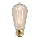 Bulbrite NOS40-1890 40-Watt Nostalgic Incandescent Edison Hairpin ST18, Medium Base, Antique