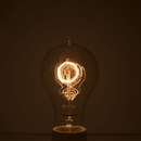 Bulbrite NOS40-VICTOR/A21 40-Watt Nostalgic Incandescent Edison A21, Victorian Loop Filament, Medium Base, Antique