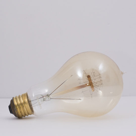 Bulbrite NOS40-VICTOR/A23 40-Watt Nostalgic Edison A23, Victorian Loop Filament, Medium Base, Antique