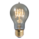 Bulbrite NOS60-VICTOR/SMK 60-Watt Nostalgic Edison A19 Bulb, Vintage Quad Loop Filament, Medium Base, Smoke