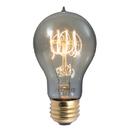 Bulbrite NOS60-VICTOR/SMK 60-Watt Nostalgic Edison A19 Bulb, Vintage Quad Loop Filament, Medium Base, Smoke