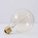 Bulbrite NOS40G30 40-Watt Nostalgic Incandescent Edison G30 Globe, Thread Filament, Medium Base, Antique