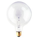 Bulbrite 40G40CL 40-Watt Incandescent G40 Globe, Medium Base, Clear