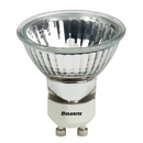 Bulbrite FMW/GU10 35-Watt Dimmable Halogen MR16 Lensed, GU10 Base, Clear