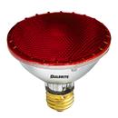 Bulbrite H75PAR30R 75-Watt Dimmable Halogen PAR30, Medium Base, Red