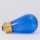 Bulbrite 11S14TB 11W Dimmable S14 String Light Replacement Bulb, Medium Base, Transparent Blue