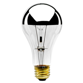 Bulbrite 100A21HM 100-Watt Incandescent Half Chrome A21, Medium Base