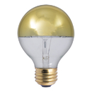 Bulbrite 40G25HG 40-Watt G25 Globe Bulb, Half Gold, Medium Base