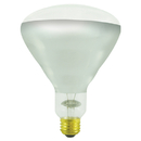 Bulbrite 250BR40H/TC 250-Watt Incandescent BR40 Heat Lamp w/Tough Coat, Medium Base, Clear