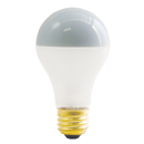 Bulbrite 60A19F/SB 60-Watt Incandescent Half Chrome A19, Medium Base, Frost