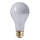 Bulbrite 100A21F/SB 100-Watt Incandescent Half Chrome A21, Medium Base, Frost