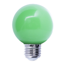 Bulbrite LED/G14G 1 Watt Ambient LED Color Light G14 Bulb, Medium Base, Green