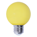 Bulbrite LED/G14Y 1 Watt Ambient LED Color Light G14 Bulb, Medium Base, Yellow