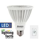 Bulbrite LED14PAR30NF/L/40K/D 14-Watt Dimmable LED BR30, Medium (E26) Base, Cool White